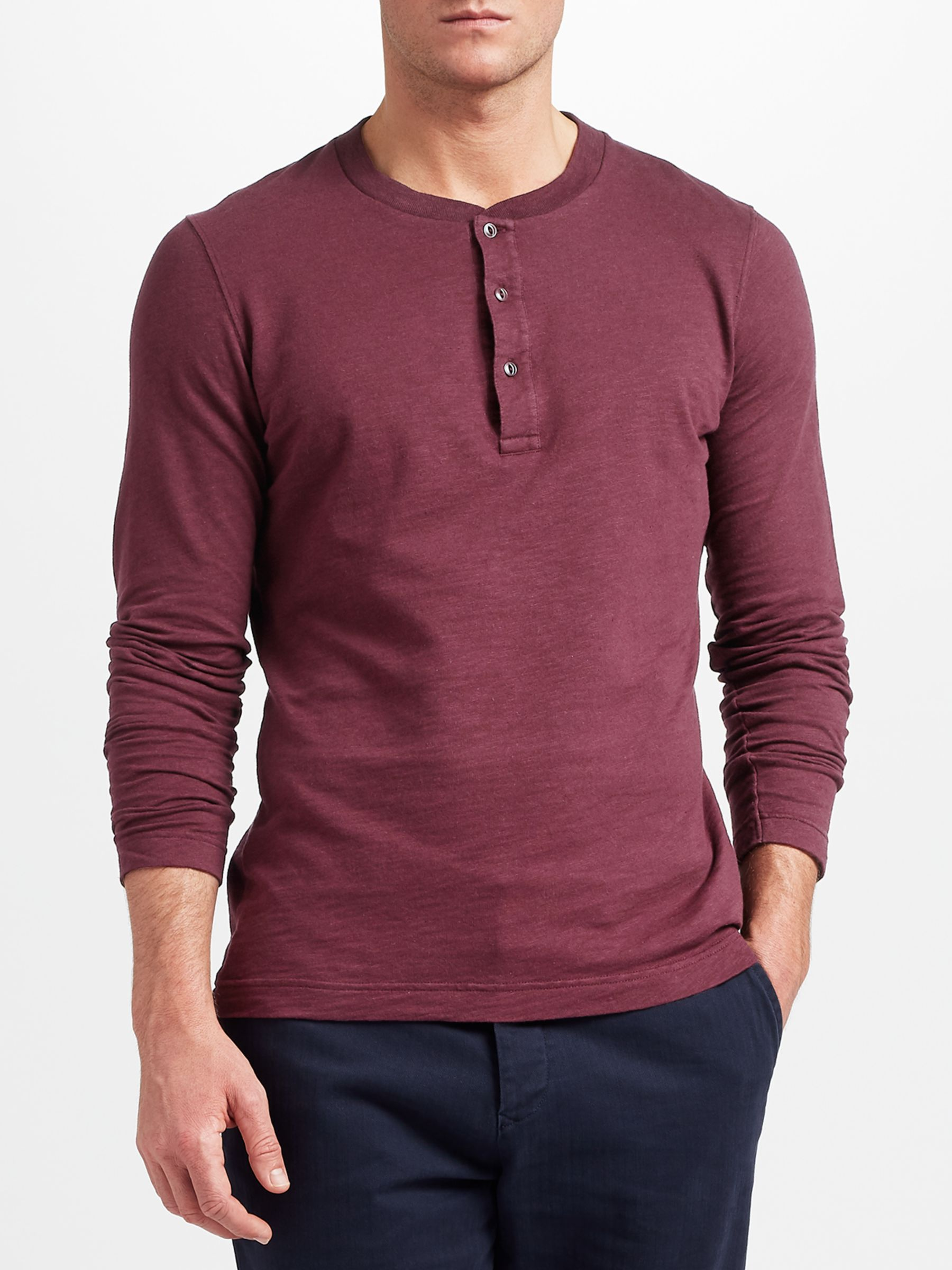 mens henley t shirt uk