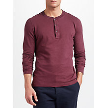 Buy JOHN LEWIS & Co. Long Sleeve Henley T-Shirt Online at johnlewis.com