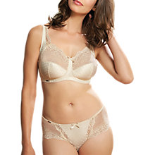 Buy Royce Champagne Lace Detail Full Cup 1143 Bra, Ivory Online at johnlewis.com