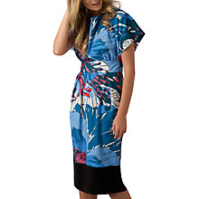Buy Closet Kimono Contrast Hem Dress, Multi Online at johnlewis.com