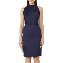 Buy Reiss Rana Halterneck Dress, Ink Online at johnlewis.com
