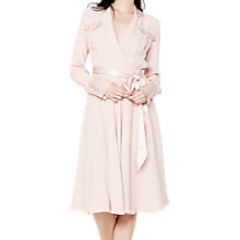 Buy Ghost Erin Dress, Peach Skin Online at johnlewis.com