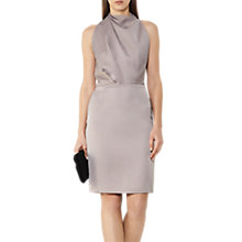 Buy Reiss Halter Neck Dress, Ash Online at johnlewis.com
