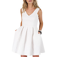 Buy Closet Princess Line Pleat Dress, Ivory Online at johnlewis.com