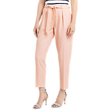 Buy Oasis Tapered Leg Trousers Online at johnlewis.com