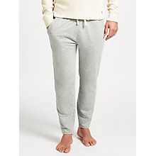 Buy Polo Ralph Lauren Loopback Jersey Lounge Pants, Grey Online at johnlewis.com