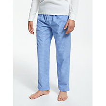Buy Polo Ralph Lauren James Woven Lounge Pants, Blue Online at johnlewis.com