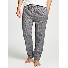 Buy Polo Ralph Lauren Classic Flannel Lounge Pants, Grey Online at johnlewis.com