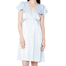 Buy Ghost Anais Dress, Pale Blue Online at johnlewis.com