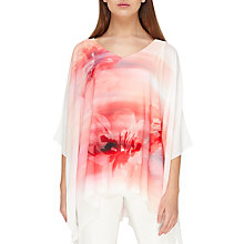 Buy Jacques Vert Printed Cold Shoulder Tunic Top Online at johnlewis.com