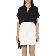 Buy Reiss Pintuck Skirt, Off White Online at johnlewis.com