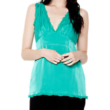 Buy Ghost Bethany Top, Green Online at johnlewis.com