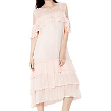 Buy Ghost Sinead Dress, Pale Pink Online at johnlewis.com