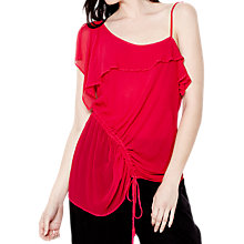 Buy Ghost Julia Top, Fuchsia Online at johnlewis.com