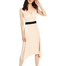 Buy Phase Eight Felicia Dress, Powder/Black Online at johnlewis.com
