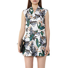Buy Reiss Bette Playsuit, Multi Online at johnlewis.com