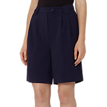 Buy Reiss Linetti Relaxed City Shorts, Night Navy Online at johnlewis.com