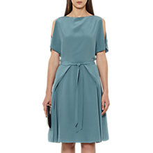 Buy Reiss Mira Silk Dress, Blue Online at johnlewis.com