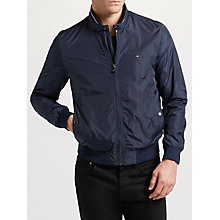 Buy Tommy Hilfiger Wyatt Bomber Jacket, Sky Captain Online at johnlewis.com