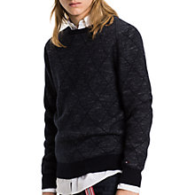 Buy Tommy Hilfiger Karl Jumper, Sky Captain Online at johnlewis.com