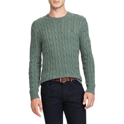 Polo Ralph Lauren Crew Neck Cable Sweatshirt