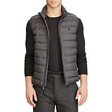 Buy Polo Ralph Lauren Sleeveless Padded Gilet, Windsor Heather Online at johnlewis.com