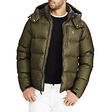 Buy Polo Ralph Lauren El Cap Fill Jacket, Dark Loden Online at johnlewis.com