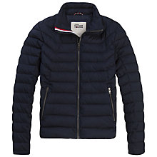 Buy Tommy Jeans Padded Motor Jacket Online at johnlewis.com