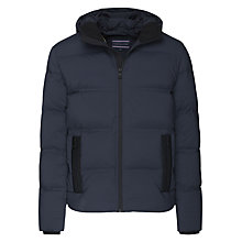 Buy Tommy Hilfiger Maddy Down Bomber Jacket, Sky Captain Online at johnlewis.com