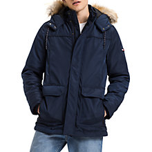 Buy Tommy Jeans Tech Parka Jacket, Multi/Navy Online at johnlewis.com