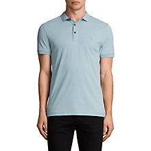Buy AllSaints Slim Fit Alter Polo Shirt, Nordic Blue Online at johnlewis.com