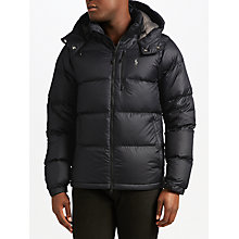 Buy Polo Ralph Lauren Padded Jacket, Polo Black Online at johnlewis.com