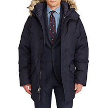 Buy Polo Ralph Lauren Gliss Parka Down Jacket, Aviator Navy Online at johnlewis.com
