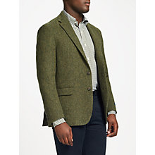 Buy Polo Ralph Lauren Broken Twill Jacket, Green Online at johnlewis.com