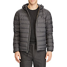 Buy Polo Ralph Lauren Lightweight Down Fill Jacket, Windsor Heather Online at johnlewis.com