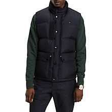 Buy Tommy Hilfiger Down Gilet, Sky Captain Online at johnlewis.com