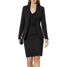 Buy Reiss Tailored Pencil Skirt, Black Online at johnlewis.com