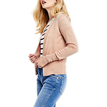 Buy Oasis Crew Cardigan, Soft Orange Online at johnlewis.com