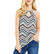 Buy Oasis Tribal Halter Top, White/Multi Online at johnlewis.com