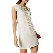 Buy Karen Millen Fringe Detail Tunic Dress Online at johnlewis.com