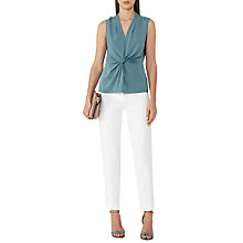 Buy Reiss Twisted Front Top Online at johnlewis.com