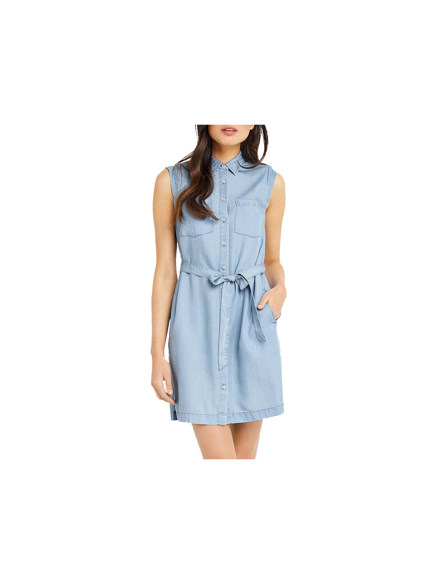 46779019d05f55 Buy Oasis Edie Sleeveless Shirt Dress