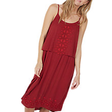 Buy Fat Face Poole Midi Dress, Red Online at johnlewis.com