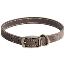 Buy Barbour Leather Dog Collar Online at johnlewis.com