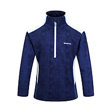 Buy Skogstad Children's Follsjoen Zip Top, Navy Online at johnlewis.com