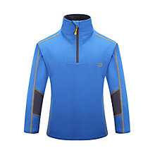 Buy Skogstad Children's Finsevatnet Zip Top, Navy Online at johnlewis.com