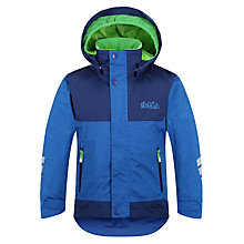 Buy Skogstad Children's Hittifjell 2-Layer Waterproof Jacket, Blue Online at johnlewis.com