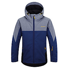 Buy Skogstad Children's Loksteinden 2-Layer Waterproof Jacket, Navy Online at johnlewis.com