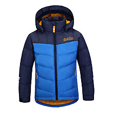 Buy Skogstad Children's Storstein Down Jacket, Blue Online at johnlewis.com