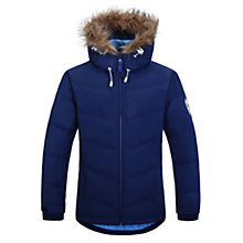 Buy Skogstad Girls' Gronstad Down Jacket, Navy Online at johnlewis.com